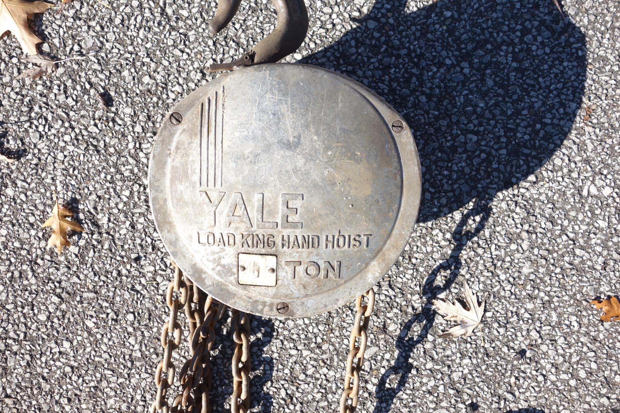 Yale 1-ton Load King Hand Hoist #2